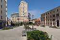 12 aprile 2020, Sassari, piazza Castello. Pasqua di Resurrezione.