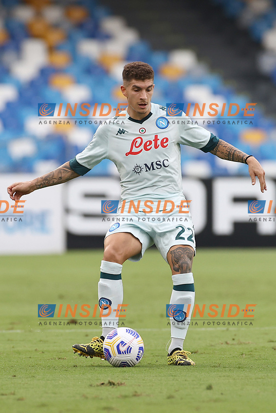 Giovanni Di Lorenzo of SSC Napoli<br /> during the friendly football match between SSC Napoli and Pescara Calcio 1936 at stadio San Paolo in Napoli, Italy, September 11, 2020. <br /> Photo Cesare Purini / Insidefoto