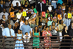 Some very viable support for the graduates was shown at the Texas Southern University commencement Saturday May 16,2009.(Dave Rossman/For the Chronicle)