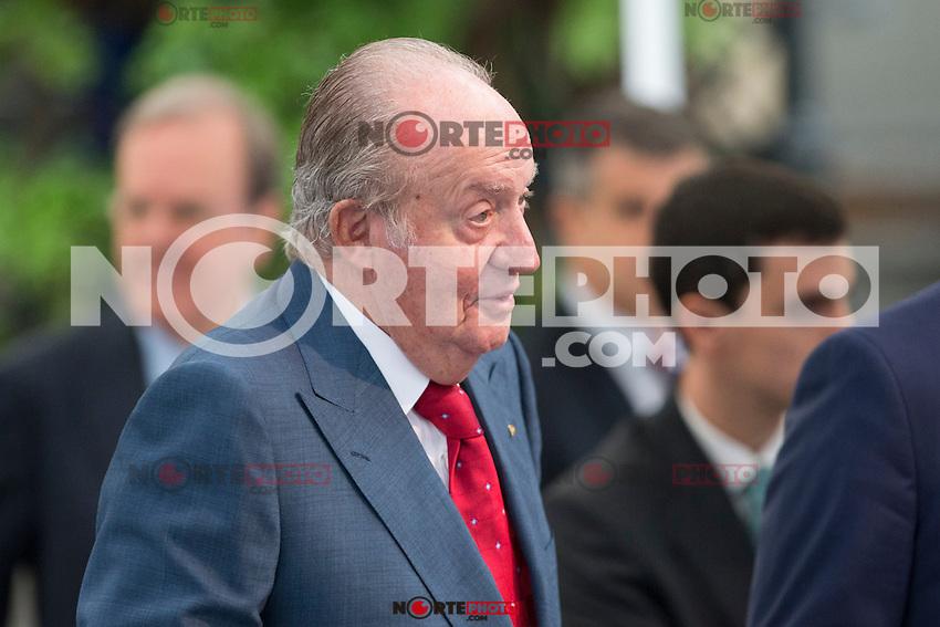 Spainsh King Juan Carlos during the opening of the academic year 2016/2017 university reserach insititute foundation Jose Ortega y Garret and Gregorio Maranon in Madrid, Spain. October 19, 2016. (ALTERPHOTOS/Rodrigo Jimenez) /NORTEPHOTO.COM