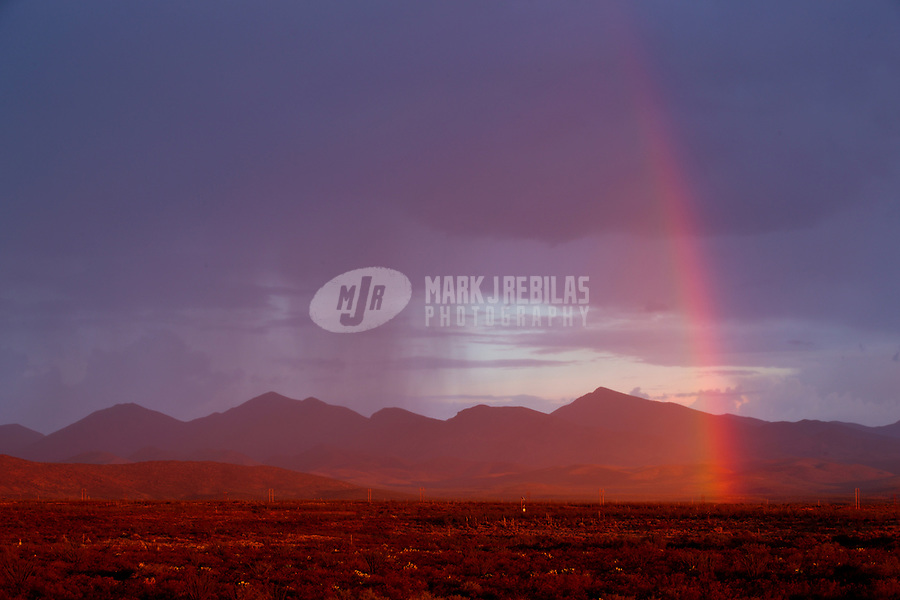 Rainbow, storm, storm chasing, storm chaser, Arizona, weather, clouds, desert, mountains, rain, monsoon