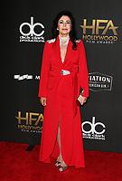 BEVERLY HILLS, CA - NOVEMBER 5: María Conchita Alonso, at The 21st Annual Hollywood Film Awards at the The Beverly Hilton Hotel in Beverly Hills, California on November 5, 2017. Credit: Faye Sadou/MediaPunch