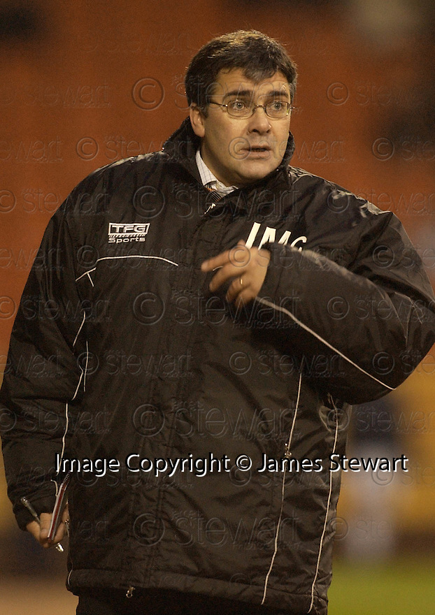 11/12/2004  Copyright Pic : James Stewart.File Name : jspa25_dundee_utd_v_kilmarnock.IAN MCCALL DURING THE GAME.....Payments to :.James Stewart Photo Agency 19 Carronlea Drive, Falkirk. FK2 8DN      Vat Reg No. 607 6932 25.Office     : +44 (0)1324 570906     .Mobile   : +44 (0)7721 416997.Fax         : +44 (0)1324 570906.E-mail  :  jim@jspa.co.uk.If you require further information then contact Jim Stewart on any of the numbers above.........