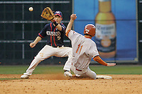 Houston Cougars SS Blake Kelso (#5) against the Texas Longhorns on Saturday March 6th, 2100 at the Astros College Classic in Houston's Minute Maid Park.  (Photo by Andrew Woolley / Four Seam Images)