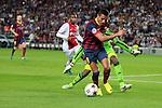 UEFA Champions League 2013/2014.<br /> FC Barcelona vs AFC Ajax: 4-0 - Game: 1.<br /> Alexis Sanchez vs Vermeer.