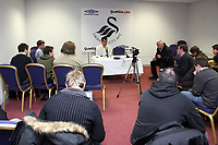 Pictured: Roberto Martínez Manager of Swansea City <br /> Re: Carling Cup Round Four, Swansea City Football Club v Watford at the Liberty Stadium, Swansea, south Wales, Tuesday 11 November 2008.<br /> Picture by Dimitrios Legakis Photography (Athena Picture Agency), Swansea, 07815441513