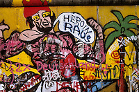 Graffiti II - Berlin Wall west zone.10 November 1989