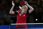 Glasgow 2014 Commonwealth Games<br /> Charlotte Carey v Kumar Azad Jinita Shah <br /> <br /> 29.07.14<br /> &copy;Steve Pope-SPORTINGWALES