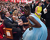 LUPITA NYONGO AND LEONARDO DI CAPRIO<br /> during the live ABC Telecast of The Oscars&reg; from the Dolby&reg; Theatre in Hollywood, Los Angeles_02/03/2014<br /> Mandatory Photo Credit: &copy;Harbaugh/Newspix International<br /> <br /> **ALL FEES PAYABLE TO: &quot;NEWSPIX INTERNATIONAL&quot;**<br /> <br /> PHOTO CREDIT MANDATORY!!: NEWSPIX INTERNATIONAL(Failure to credit will incur a surcharge of 100% of reproduction fees)<br /> <br /> IMMEDIATE CONFIRMATION OF USAGE REQUIRED:<br /> Newspix International, 31 Chinnery Hill, Bishop's Stortford, ENGLAND CM23 3PS<br /> Tel:+441279 324672  ; Fax: +441279656877<br /> Mobile:  0777568 1153<br /> e-mail: info@newspixinternational.co.uk
