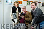 Jack Fahy, Launches his photography exhibition on  Landscapes and wildlife at Kerry Library Tralee on Tuesday and runs until 30th January 2017. Pictured here with Niamh O'Sullivan and Garry Dineen
