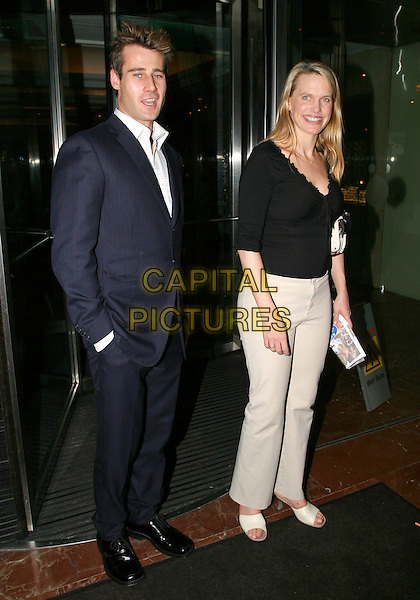TIM VINCENT & ANNA WALKER.Daily Mirror's Pride Of Britain Awards at the London Hilton, Park Lane.15 March 2004.full length, full-length.www.capitalpictures.com.sales@capitalpictures.com.© Capital Pictures.
