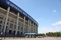 Vorplatz des Luzhniki Stadion - 17.06.2018: Deutschland vs. Mexico, Luzhniki Stadium Moskau