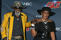 """LOS ANGELES - AUG 20:   Robert Finley, daughter at the """"America's Got Talent"""" Season 14 Live Show Red Carpet at the Dolby Theater on August 20, 2019 in Los Angeles, CA"""