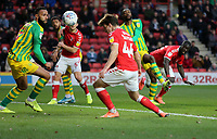 first goal scored for Charlton Athletic by Josh Davidson during Charlton Athletic vs West Bromwich Albion, Sky Bet EFL Championship Football at The Valley on 11th January 2020