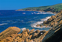 Shoreline along the Gulf of St. Lawrence<br /> Cape Breton<br /> Nova Scotia<br /> Canada