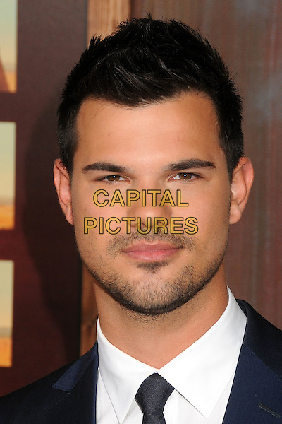 30 November 2015 - Universal City, California - Taylor Lautner. &quot;The Ridiculous 6&quot; Los Angeles Premiere held at the AMC Universal CityWalk Stadium 19. <br /> CAP/ADM/BP<br /> &copy;BP/ADM/Capital Pictures