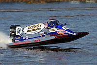 Tim Seebold's Seebold/Mercury, F1/Formula 1 class..Bay City River Roar, Bay City,Michigan USA.26-2821 June, 2009..©F. Peirce Williams 2009 USA.F.Peirce Williams.photography.ref: RAW (.NEF) File Available
