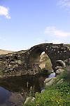 Israel, Old Gesher, the Roman Bridge on the Jordan River