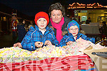 Cormac, Linda and Cathal Daly Killorglin looking at which sweet to pick at the Christmas in Killarney market at the Old Milk Market Lane on Sunday..