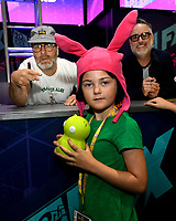 FOX FAN FAIR AT SAN DIEGO COMIC-CON© 2019: L-R: BOB'S BURGERS Cast Member H. Jon Benjamin and Creator Loren Bouchard during the BOB'S BURGERS booth signing on Friday, July 19 at the FOX FAN FAIR AT SAN DIEGO COMIC-CON© 2019. CR: Alan Hess/FOX © 2019 FOX MEDIA LLC