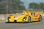 1 September 2007: The Penske Motorsports Porsche RS Spyder, driven by Ryan Briscoe (AUS),at the Detroit Sports Car Challenge presented by Bosch, Detroit, MI