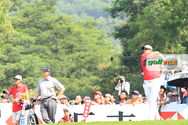 Adam Scott (AUS) on the 6th on Day 3 of the 2012 HSBC Champions, Mission Hills Golf Club, Shenzhen, China. 3/11/12..(Photo www.golffile.ie)