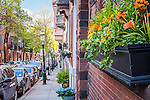 Historic homes in the Charlestown neighborhood, Boston, Massachusetts, USA