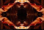 Fractal Warp III, Fractal Composite, Upper Antelope Canyon, Tse-Bighanilini, Slot Canyon, Lake Powell Navajo Tribal Park, Page, Arizona