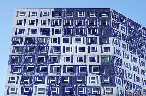 Nederland, Utrecht - 2018. Science Park Utrecht. Studentencomplex Johanna (Student Cloud). Studentenhuisvesting voor studenten aan de Universiteit van Utrecht. Het gebouw is ontworpen door Onix architecten. Foto Berlinda van Dam / Hollandse Hoogte