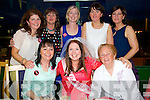 Hen Party Celebration at the Kingdom Greyhound stadium on Satuday for Michelle O'Shea from Inch who is Marrying Robert Wong. Pictured Front left to right, Kathleen Hannifin, Michelle O'Shea, Mary Hanifin.  Back left to right, Joan O'Connor, Kathleen O'Donnell, Teresa Barry, Margaret Murphy, Mary O'Connor.