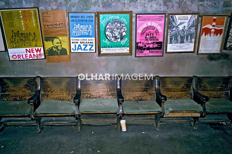 Teatro abandonado em New Orleans. EUA. 1994. Foto João Caldas.