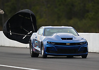 Mar 16, 2019; Gainesville, FL, USA; NHRA factory stock driver XXXX during qualifying for the Gatornationals at Gainesville Raceway. Mandatory Credit: Mark J. Rebilas-USA TODAY Sports