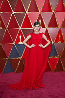 Sofia Carson arrives on the red carpet of The 90th Oscars&reg; at the Dolby&reg; Theatre in Hollywood, CA on Sunday, March 4, 2018.<br /> *Editorial Use Only*<br /> CAP/PLF/AMPAS<br /> Supplied by Capital Pictures
