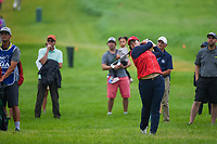 Angel Yin (USA) hits her approach shot from the rough on 1 during round 4 of the KPMG Women's PGA Championship, Hazeltine National, Chaska, Minnesota, USA. 6/23/2019.<br /> Picture: Golffile | Ken Murray<br /> <br /> <br /> All photo usage must carry mandatory copyright credit (© Golffile | Ken Murray)