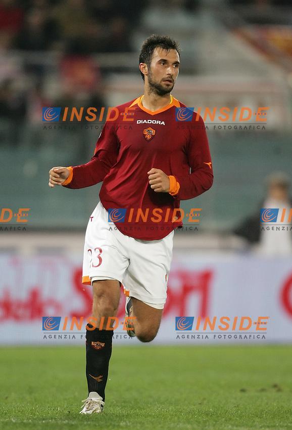Mirko Vucinic (Roma)<br /> &quot;Coppa Italia&quot; 2006-2007<br /> 29 Nov 2006 (8th finals)<br /> Roma-Triestina 2-0<br /> &quot;Olimpico&quot; Stadium-Roma-Italy<br /> Photographer:Andrea Staccioli Inside