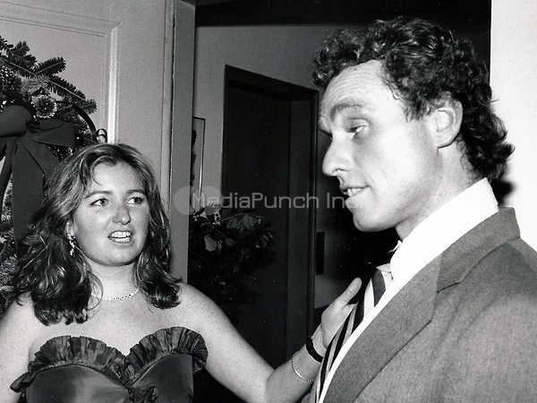 Courtney Kennedy-Hill, Joe Kennedy Jr. 1979<br /> Photo By John Barrett-PHOTOlink.net / MediaPunch