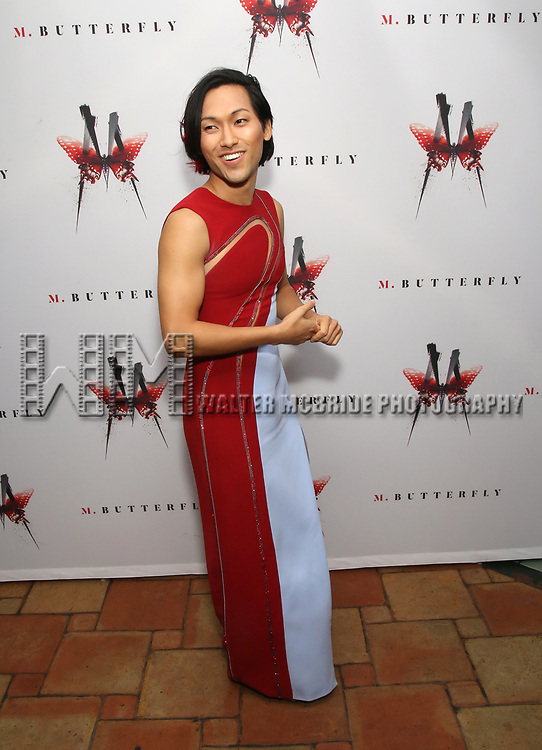 Jin Ha attends the Broadway Opening Night After Party for 'M. Butterfly' on October 26, 2017 at Red Eye Grill in New York City.