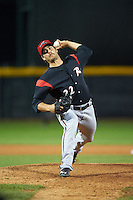 Richmond Flying Squirrels pitcher Josh Osich (22) delivers a pitch during a game against the Erie Seawolves on May 19, 2015 at Jerry Uht Park in Erie, Pennsylvania.  Richmond defeated Erie 8-5.  (Mike Janes/Four Seam Images)