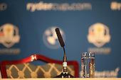 Paul McGinley to announce his Captain's picks during the Team Europe Ryder Cup Press Conference at the Wentworth Club, Virginia Waters, England. Picture:  David Lloyd / www.golffile.ie