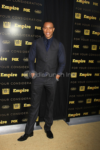 Trai Byers at Fox's 'Empire' ATAS Academy event at The Theatre at The Ace Hotel on March 12, 2015 in Los Angeles, California. Credit: David Edwards/DailyCeleb/MediaPunch