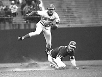 Oakland A's-Cincinnati Reds World Series, game 4,<br />