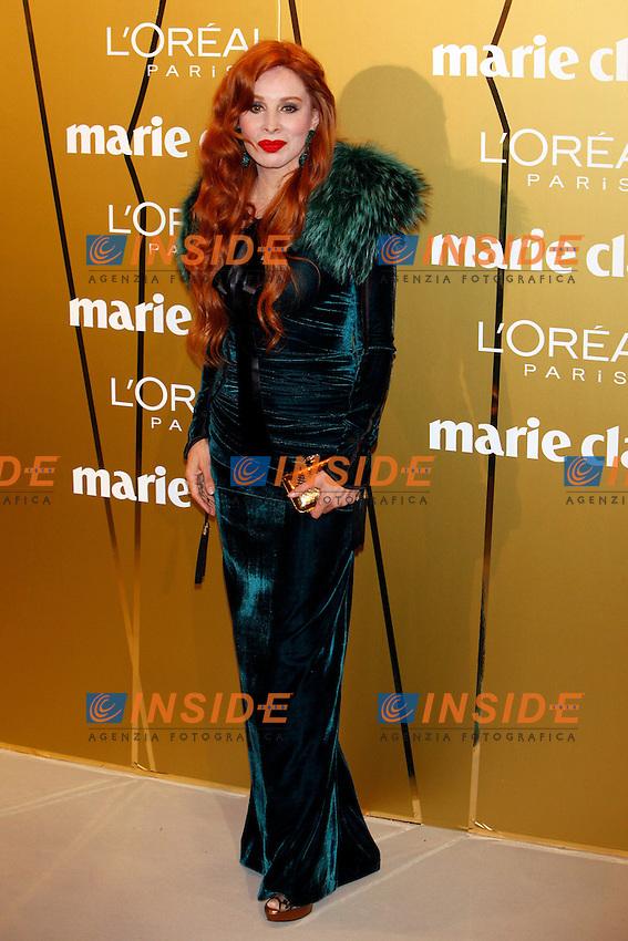 Nacha Guevara attends Marie Claire Prix de la Moda awards 2012 at French Embassy in Madrid. November 22, 2012. (Insidefoto/ALTERPHOTOS/Caro Marin)