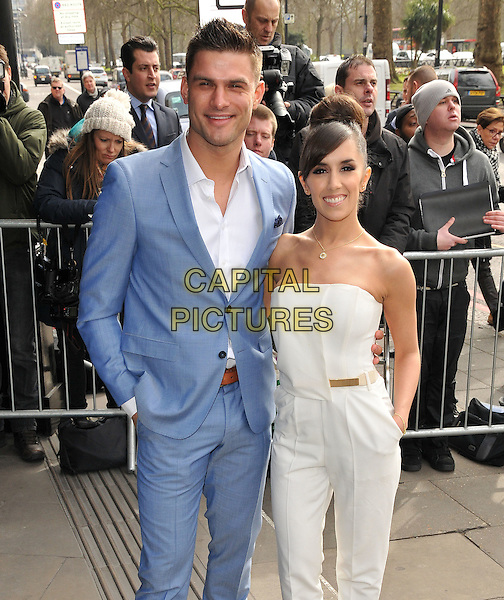 Aljaz Skorjanec &amp; Janette Manrara attend the TRIC ( Television and Radio Industries Club ) Awards 2016, Grosvenor House Hotel, Park Lane, London, UK, on Tuesday 08 March 2016.<br /> CAP/CAN<br /> &copy;Can Nguyen/Capital Pictures