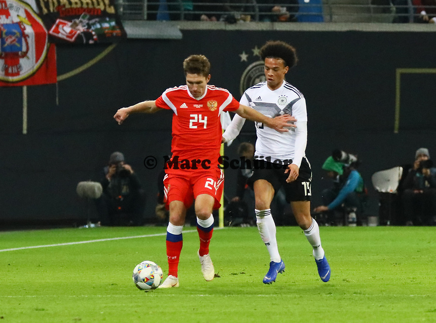 - 15.11.2018: Deutschland vs. Russland, Red Bull Arena Leipzig, Freundschaftsspiel DISCLAIMER: DFB regulations prohibit any use of photographs as image sequences and/or quasi-video.
