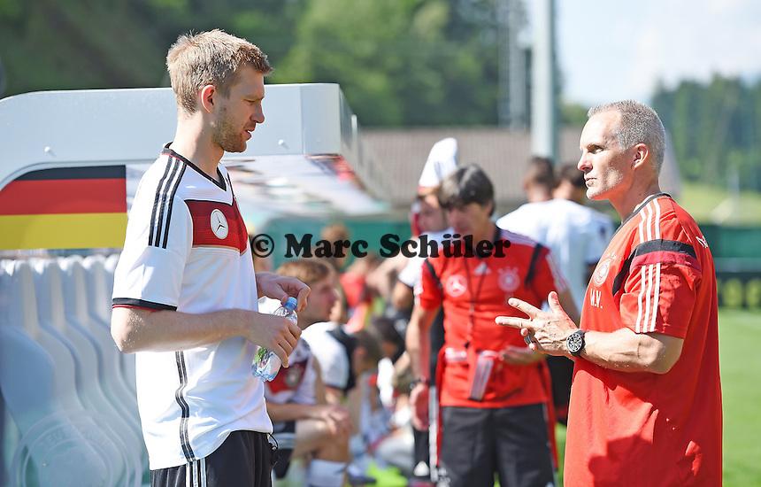 Per Mertesacker - Training der Deutschen Nationalmannschaft zur WM-Vorbereitung in St. Martin