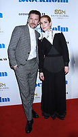 April.11, 2019 Ethan Hawke, Noomi Rapace<br />  attend Smith Global Media &amp; Dark Star presents premiere of Stockholm at MOMA  in New York April 11, 2019.<br /> CAP/MPI/RW<br /> &copy;RW/MPI/Capital Pictures