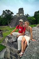 Tikal Guatemala, October 2005.The Famous Maya ruins of Tikal.  Guatemala is a colorful country with mix of many ancient Indian civilisations and Spanish colonial occupation. Photo by Frits Meyst/Adventure4ever.com