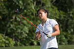 April 13, 2015; Ventura, CA, USA; Pepperdine Waves golfer Marissa Chow during the WCC Golf Championships at Saticoy Country Club.