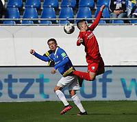 Serdar Dursun (SV Darmstadt 98) gegen Robert Tesche (VfL Bochum) - 07.03.2020: SV Darmstadt 98 vs. VfL Bochum, Stadion am Boellenfalltor, 2. Bundesliga<br /> <br /> DISCLAIMER: <br /> DFL regulations prohibit any use of photographs as image sequences and/or quasi-video.