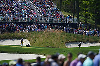 Francesco Molinari (ITA)on the 17th green during the 3rd round at the PGA Championship 2019, Beth Page Black, New York, USA. 19/05/2019.<br /> Picture Fran Caffrey / Golffile.ie<br /> <br /> All photo usage must carry mandatory copyright credit (© Golffile | Fran Caffrey)